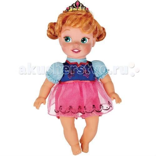 Disney Кукла Малютка Принцесса Disney Frozen/Холодное сердце АннаКукла Малютка Принцесса Disney Frozen/Холодное сердце АннаКукла Disney Малютка Frozen Холодное сердце Анна -  принцессы Диснея - любимицы девочек всех континентов и стран с самого детства. С ними проводят счастливейшие минуты детства, им доверяют самые сокровенные тайны и секреты. Теперь у вас есть принцесса из нового мультфильма Дисней Холодное сердце.   Игрушка предназначена для возраста от трех лет, выполнена из прочных, не токсичных и противоаллергенных материалов и подарит массу удовольствия от игры.   Высота куклы: 26 см<br>