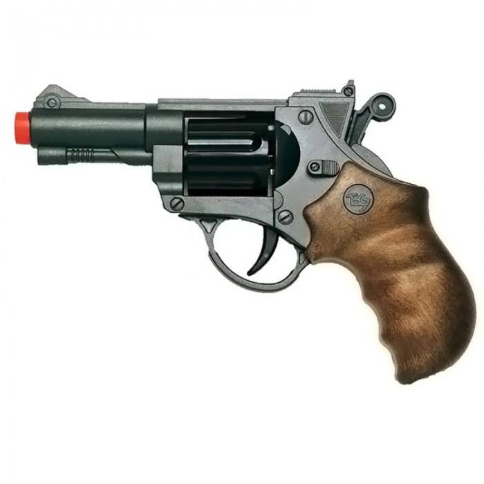 Edison Игрушечный Пистолет с пульками и мишенью Champions-Line SupertargetИгрушечный Пистолет с пульками и мишенью Champions-Line SupertargetEdison Пистолет с пульками и мишенью Champions-Line Supertarget - этот отличный 6-зарядный пистолет Supertarget — уникальный спутник детских приключений. Очень подходит для детективных игр и тренировок перед «боем». Красивый пистолет от Edison Giocattoli — стильное украшение и надежная защита для маленького героя и его друзей.  Edison Giocattoli — итальянский производитель игрушечного оружия для социально-ролевых игр, развивающих в детях чувство справедливости, мышление, логику и активность.  Продукция компании соответствует всем нормам безопасности и качества.  Изучите особые меры предосторожности при использовании игрушки до её эксплуатации.  Ёмкость магазина: 6 пулек  В комплекте: игрушечный пистолет, мишень, пульки.  Длина пистолета: 19 см<br>