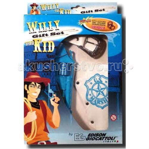 Edison Игрушечная Кобура с пистолетом Вилли Кид/Willy Kid