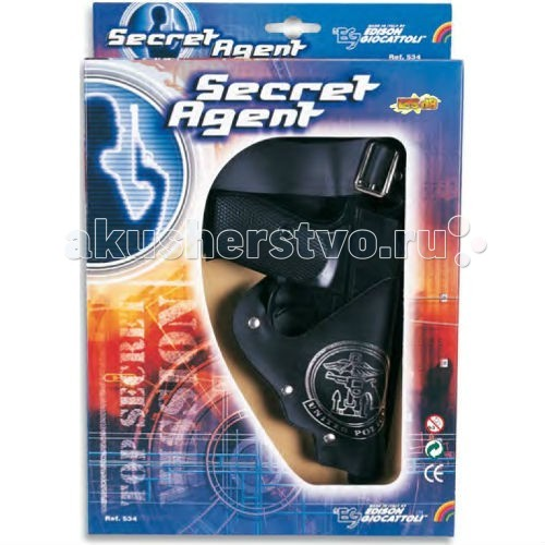 Edison ���������� ����� ���������� ������ � ���������� ������� � ������ Secret Agent-Set