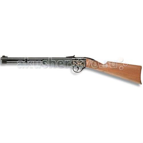 Edison Игрушечное Ружье Бизон 66 смИгрушечное Ружье Бизон 66 смEdison Игрушечное Ружье Бизон 66 см - это крутое игровое 13-зарядное ружье, предназначенное для защиты, если вы играете в Дикий Запад. Это игрушечное пистонное ружье станет отличным помощником вашего маленького шерифа. Расскажите ребенку легенды Дикого Запада и помогите придумать свою историю!  Компания Edison Giocattoli производит игрушки только на итальянских заводах, поэтому игрушечные пистолеты с пульками, мишени и другие игрушки Edison Giocattoli отличаются красотой, стилем, высоким качеством и долговечностью.  Игрушка сделана из качественных и безопасных материалов и не влияет на здоровье ребенка.  Изучите особые меры предосторожности при использовании игрушки до её эксплуатации.  Ёмкость магазина: 13 пистонов  В поставку входит: игрушечное ружье.  Длина ружья: 66 см<br>