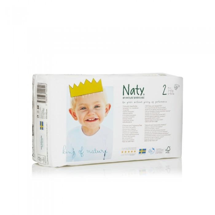 Naty Подгузники Размер 2 (3-6 кг) 34 шт.