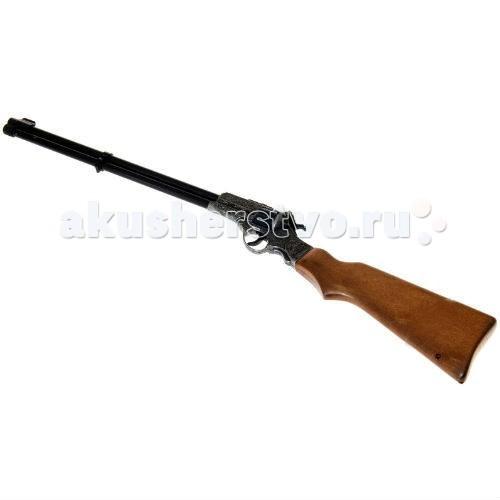 Edison Игрушечное Ружье с прицелом литое Enfield 65,5 смИгрушечное Ружье с прицелом литое Enfield 65,5 смEdison Игрушечное Ружье с прицелом литое Enfield 65,5 см - супер-оружие для сильного ковбоя или шерифа. Это игровое пистонное ружье понравится и маленьким, и большим мальчикам, которые любят истории про Дикий Запад и фильмы в стиле вестерн.  Итальянская компания Edison Giocattoli выпускает игрушки на итальянских заводах с 1958 г., что говорит о высоком качестве игрушек компании.  Игрушечное ружье Enfield Gewehr сделано из качественных, сертифицированных материалов, не влияющих на здоровье ребенка.  До эксплуатации игрушки изучите меры предосторожности при обращении с ней.  Ёмкость магазина: 8 пистонов  Длина ружья: 65,5 см<br>