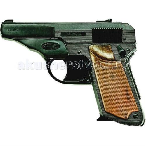 Edison Игрушечный Пистолет Фалькон 14,5 смИгрушечный Пистолет Фалькон 14,5 смEdison игрушечный Пистолет Фалькон 14,5 см - создан для того, чтобы поддерживать безопасность в городе. Эта модель отлично подходит для социально-ролевых игр в полицейских. Компактный и легкий игрушечный пистолет подойдет даже для самых маленьких полицейских.  Игрушечные пистолеты от итальянской компании Edison Giocattoli — это отличное качество и долговечность детских игрушек.  Материалы, из которых сделана игрушка, безопасны для здоровья, экологичны и нетоксичны.  Заранее изучите инструкцию по безопасному обращению с игрушкой.  Ёмкость магазина: 13 пистонов.  Длина пистолета: 14,5 см<br>
