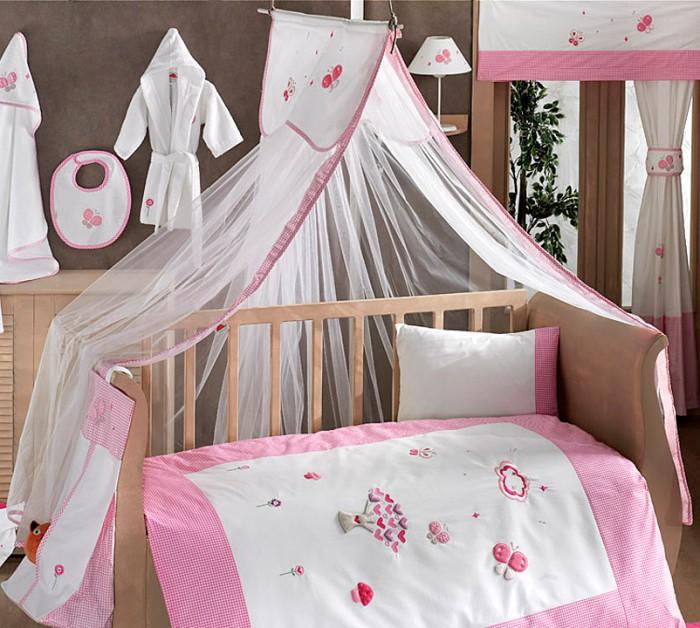 Балдахин для кроватки Kidboo Funny DreamFunny DreamБалдахин Kidboo Funny Dream украсит кроватку Вашего малыша, защитит его от укусов комаров и других насекомых, а также уменьшит попадание света для крепкого и здорового сна.  Подходит для всех стандартных держателей балдахина.  Размер 450х150 см.<br>