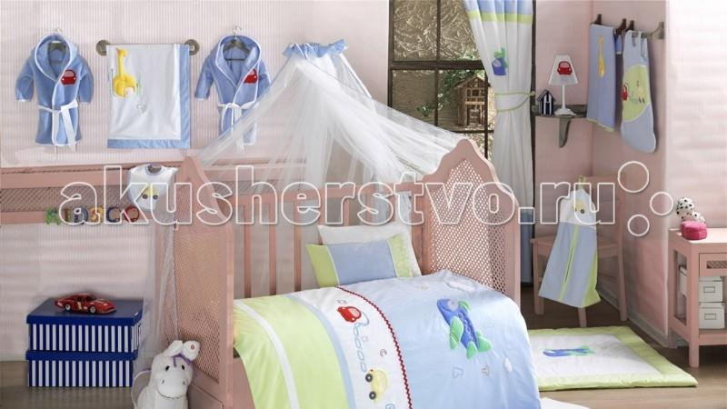 Балдахин для кроватки Kidboo Traffic JamTraffic JamБалдахин Kidboo Traffic Jam украсит кроватку Вашего малыша, защитит его от укусов комаров и других насекомых, а также уменьшит попадание света для крепкого и здорового сна.  Подходит для всех стандартных держателей балдахина.  Размер 450х150 см.<br>
