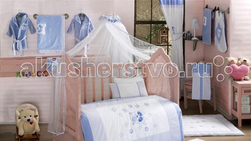 Балдахин для кроватки Kidboo PandaPandaБалдахин Kidboo Panda украсит кроватку Вашего малыша, защитит его от укусов комаров и других насекомых, а также уменьшит попадание света для крепкого и здорового сна.  Подходит для всех стандартных держателей балдахина.  Размер 450х150 см.<br>