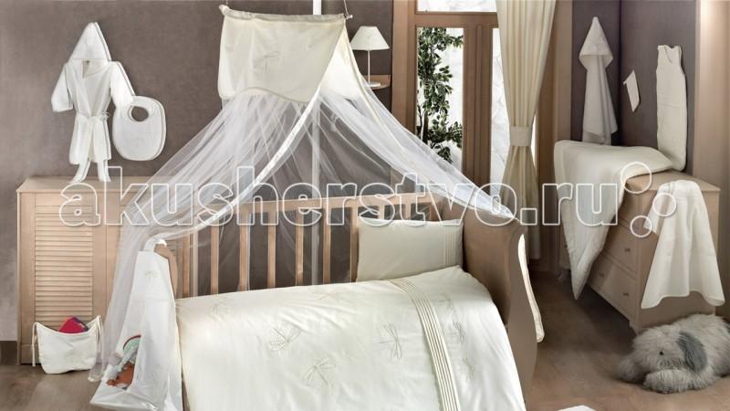 Балдахин для кроватки Kidboo Vanilla DreamsVanilla DreamsБалдахин Kidboo Vanilla Dreams украсит кроватку Вашего малыша, защитит его от укусов комаров и других насекомых, а также уменьшит попадание света для крепкого и здорового сна.  Подходит для всех стандартных держателей балдахина.  Размер 450х150 см.<br>