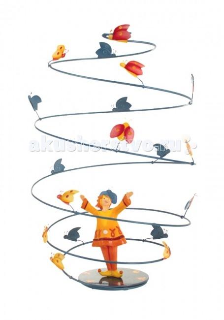L'oiseau Bateau Spirale Подвесное украшение Божьи коровки