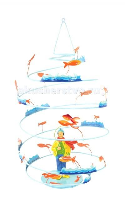L'oiseau Bateau Spirale Подвесное украшение Рыболов