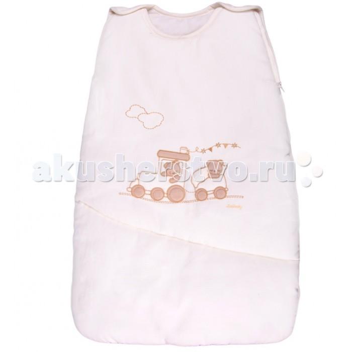 Спальный конверт Italbaby теплый Treninoтеплый TreninoУдобный теплый спальник понравится Вам и малышу.   Конверт легко фиксируется на плечах ребенка с помощью лямок на кнопках.  Благодаря молнии (сбоку и на нижней части) малыша можно быстро разместить в спальном мешке.   Может использоваться как совместно с одеялом, так и вместо него.   Материалы:  покрытие: 100% хлопок наполнение: фиброволокно   Размеры (ШхД): 40x70 см<br>
