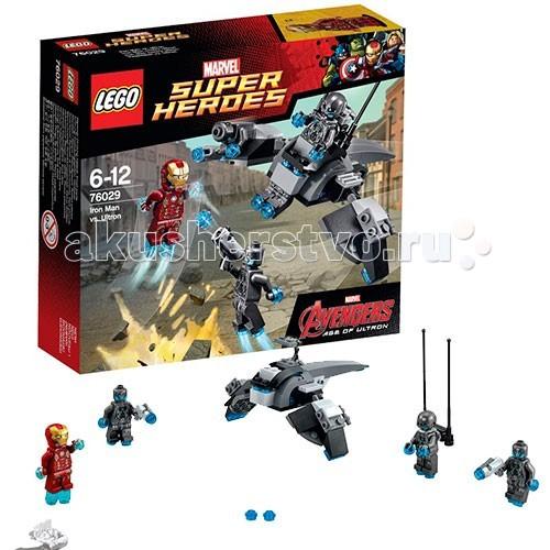 Конструктор Lego Super Heroes 76029 Лего Супер Герои Железный человек против Альтрона