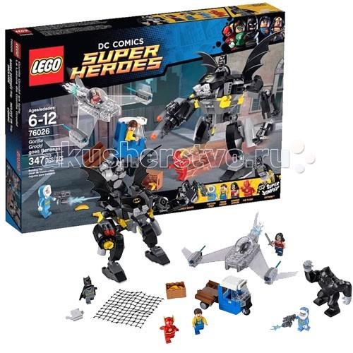 Конструктор Lego Super Heroes 76026 Лего Супер Герои Горилла Гродд сходит с ума Super Heroes 76026 Лего Супер Герои Горилла Гродд сходит с ума 76026