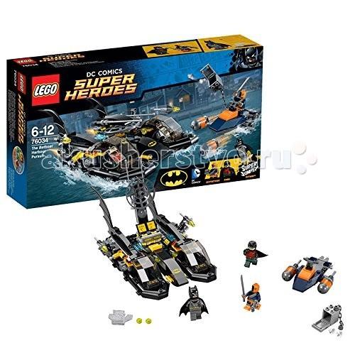 Конструктор Lego Super Heroes 76034 Лего Супер Герои Погоня в бухте на Бэткатере