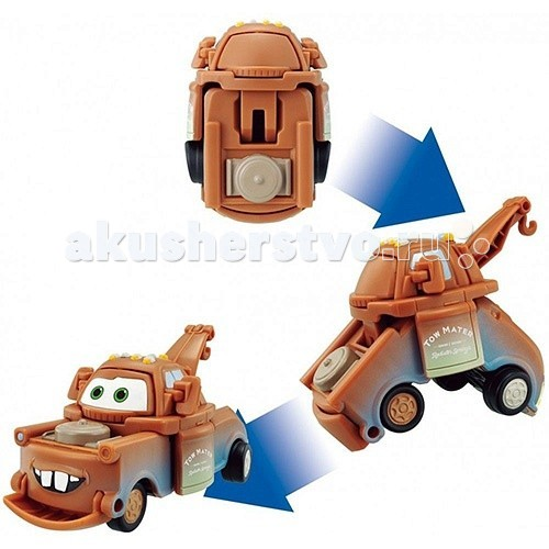 EggStars Яйцо-трансформер МэтрЯйцо-трансформер МэтрЯйцо-трансформер Мэтр  Мэтр - лучший друг Молнии Маккуина из мультфильма Тачки-2! Мэтр - коренной житель Радиатор-Спрингс, автомобильный эвакуатор, модели International Harvester 1956-1958 года выпуска. Он очень любит свою работу и всегда готов прийти на помощь! Мэтр веселый и добродушный, снискал славу непревзойденного рассказчика и даже был секретным агентом, заслужив благодарность самой королевы.  EggStars - игрушка-трансформер, выполненная в виде яйца, которое превращается в одного из популярных героев мультфильма. Всего несколько движений, и пластиковое яйцо превратится в машинку!   Размер EggStars Мэтр в разобранном состоянии: 5 х 8 х 17 см<br>