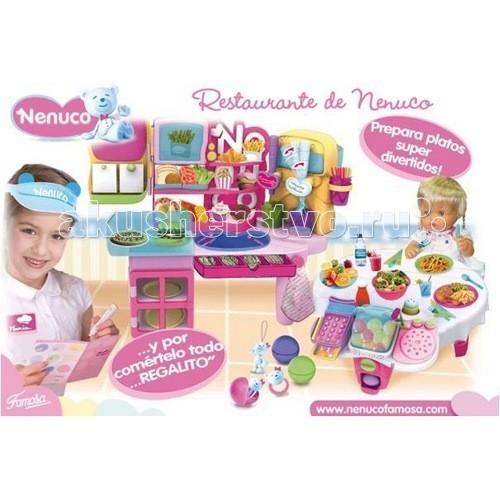 Famosa Набор Ресторан Ненуко с куклой