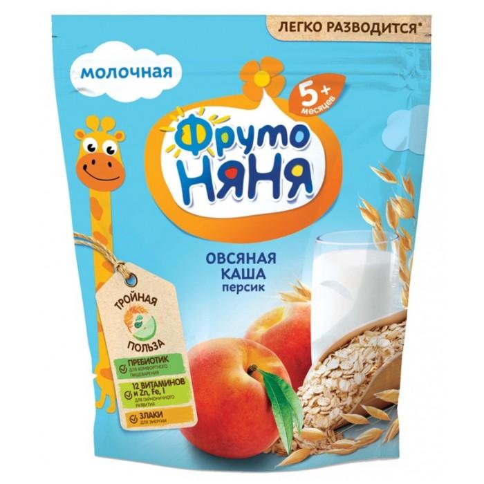 ФрутоНяня Молочная Овсяная каша с персиком молочная
