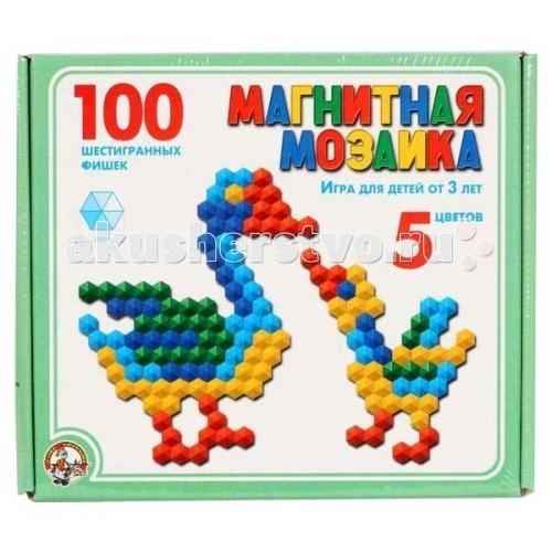 Тридевятое царство Магнитная мозаика 100 шестигранных фишек 00961