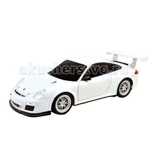 Welly Радиоуправляемая модель машины 1:24 Porsche 911 GT3 CupРадиоуправляемая модель машины 1:24 Porsche 911 GT3 CupКоллекционная модель машины 1:24 Porsche 911 GT3 Cup на радиоуправлении.  Радиоуправляемая модель Porsche 911 GT3 Cup Welly – копия автомобиля.  С помощью пульта можно управлять движением автомобиля!  Батарейки:  - 2 АА (для пульта) - 3 АА (для машинки).<br>
