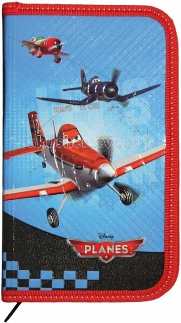 Disney Самолеты Пенал односекционный 22975