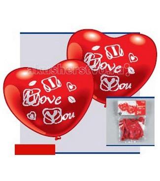 Everts 5 фигурных шариков-сердец Я люблю тебя5 фигурных шариков-сердец Я люблю тебяEverts 5 фигурных шариков-сердец Я люблю тебя - яркие алые шарики с надписью I love you станут отличным украшением для квартиры, дома, класса в День Святого Валентина и позволят Вам рассказать своим близким о своей любви к ним.<br>