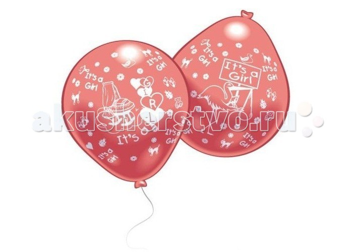 Everts 10 шаров с рисунком Рождение малыша