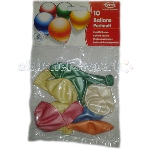 Everts 10 перламутровых разноцветных шариков10 перламутровых разноцветных шариковEverts 10 перламутровых разноцветных шариков - в этом пакетике есть 10 замечательных перламутровых шариков, которые с удовольствием станут прекрасным украшением для любой вечеринки или же просто поднимут Вам настроение.   В комплекте есть шарики разных цветов.   Шарики сделаны из безопасных материалов, что позволяет играть с ними уже с рождения!<br>