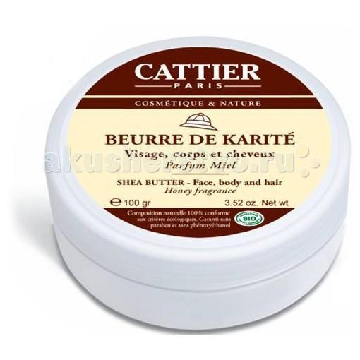 Cattier Масло Карите с ароматом меда 100 г