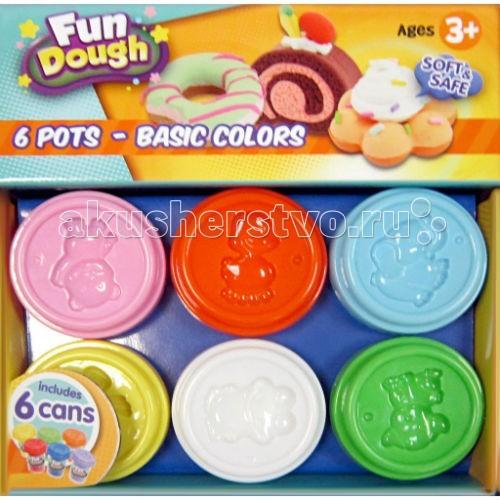 Fun Dough ����� ���������� 6 �����