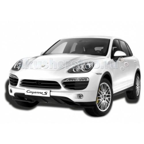 KidzTech Радиоуправляемый автомобиль 1:16 Porsche Cayenne SРадиоуправляемый автомобиль 1:16 Porsche Cayenne SKidzTech Радиоуправляемый автомобиль 1:16 Porsche Cayenne S - сделает Вашего ребенка по-настоящему счастливым. С такой машинкой можно устраивать гоночные соревнования с друзьями, учиться крутить различные финты и просто любоваться. Для более реалистичного управления при работе у автомобиля светятся фары. Машина выполняется в двух цветах: бело-серебристом и черном. Все детали модели выполнены из прочного, не токсичного и качественного материала.  Масштаб: 1:16  Длина модели: 30 см  Требуется: 5 батареек типа АА (автомобиль), 1 батарейка типа 9V (пульт).  Частота: 27, 40 и 49 МГц  Для детей от 6 лет.<br>