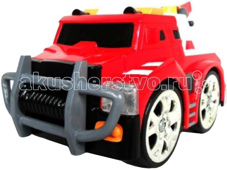 KidzTech Пожарная машинка радиоуправляемая 87181Пожарная машинка радиоуправляемая 87181KidzTech Пожарная машинка радиоуправляемая 87181 - настоящий пожарный – это хорошая физическая подготовка, высокая дисциплина и быстрота действий. Поэтому маленький пожарный должен хорошо кушать, делать зарядку, быстро одеваться и слушаться родителей. И, конечно, ему не обойтись без пожарной машины.  Радиоуправляемая пожарная машинка китайской компании KidzTech, которой можно дистанционно управлять – именно то, что нужно! С ней ребёнок справится с любой задачей и не заплутает на жизненном пути, ведь ее яркие фары осветят любую дорогу.  В комплекте: радиоуправляемый автомобиль, пульт дистанционного управления, антенна, инструкция на русском языке.   Для работы машинки требуется 6 батареек типа 1,5V АА, которые продаются отдельно. Для работы пульта требуется 1 батарейка 9V.<br>