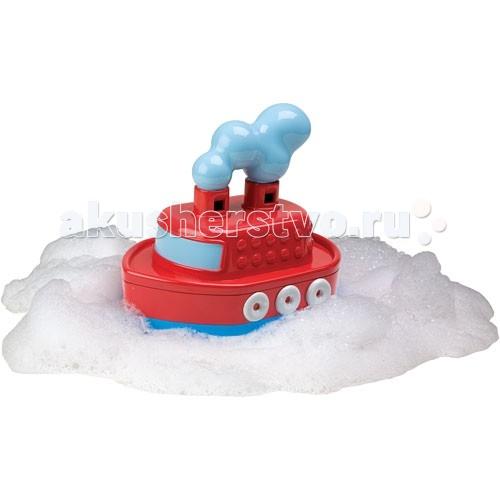 Alex Игрушка для ванны Гудящий пароходикИгрушка для ванны Гудящий пароходикЗабавная игрушка для ванны превратит купание в долгожданный праздник!   Чудесный красный пароход плавает в ванной.   Если нажать на него, погрузив в воду, он гудит почти как настоящий пароход!<br>
