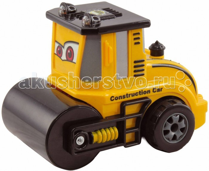 KidzTech RC Радиоуправляемая мини машинка ТракторRC Радиоуправляемая мини машинка ТракторKidzTech RC Радиоуправляемая мини машинка Трактор - радиоуправляемая мини машинка трактор от компании Kidz Tech будет отличным подарком для ребенка.  У эксковатора загораются фары. С такой машинкой процесс игры будет увлекательным и ярким.  Внимание!  Для работы игрушки требуются батарейки: 3 батарейки типа ААА для работы машинки ( не входят в комплект) 1 батарейка 9V для работы пульта ( не входит в комплект)<br>