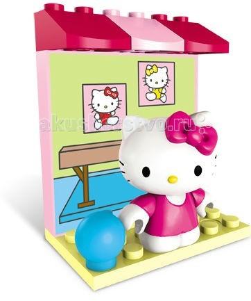 Конструктор Mega Bloks Мини-набор Hello Kitty Хобби Гимнастика