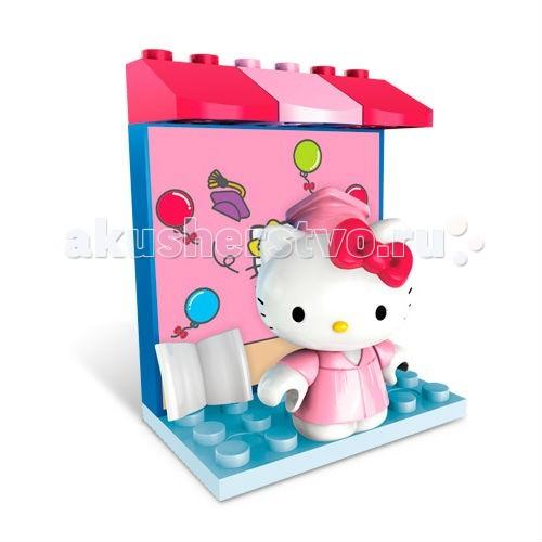 Конструктор Mega Bloks Мини-набор Hello Kitty Хобби Выпускница Университета