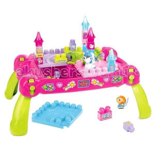 Конструктор Mega Bloks Набор Принцессы Волшебный столик с деталямиНабор Принцессы Волшебный столик с деталямиКонструктор Mega Bloks Набор Принцессы Волшебный столик с деталями - создан специально для маленьких принцесс. Удобный столик Сконструирован таким образом, что малышкам будет удобно стоить замки и другие постройки из деталей Mega Bloks.   В набор входит множество разноцветных деталей, верхушки башен замка,а также фигурки принцессы и пегаса.  Рекомендуется для игр детей от 1 года.<br>