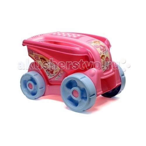 Конструктор Mega Bloks Прицеп розовый большойПрицеп розовый большойКонструктор Mega Bloks Прицеп розовый большой - отличное место для хранения любимого конструктора Mega Bloks, а также для других игрушек, которые малышка хочет перевозить с собой.   Благодаря удобной ручке ваша девочка будет перевозить прицеп из комнаты в комнату без всякого труда. Опрокидывающийся ковш удобен в использовании.   В комплект также входит 20 Макси деталей конструктора.   Рекомендовано для детей от 1 года.<br>