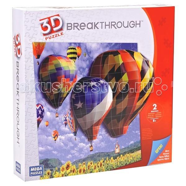 Настольная игра Воздушные шары, Mega Bloks, Пазл 3D