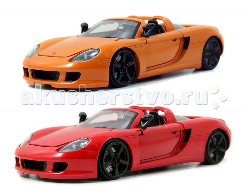 Jada Diekast ������ 2005 Porsche Carrera GT 1:24