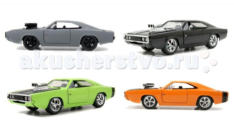 Jada Diekast ������ 1970 Dodge Charger-Blown Engine-KMC Wheel 1:24