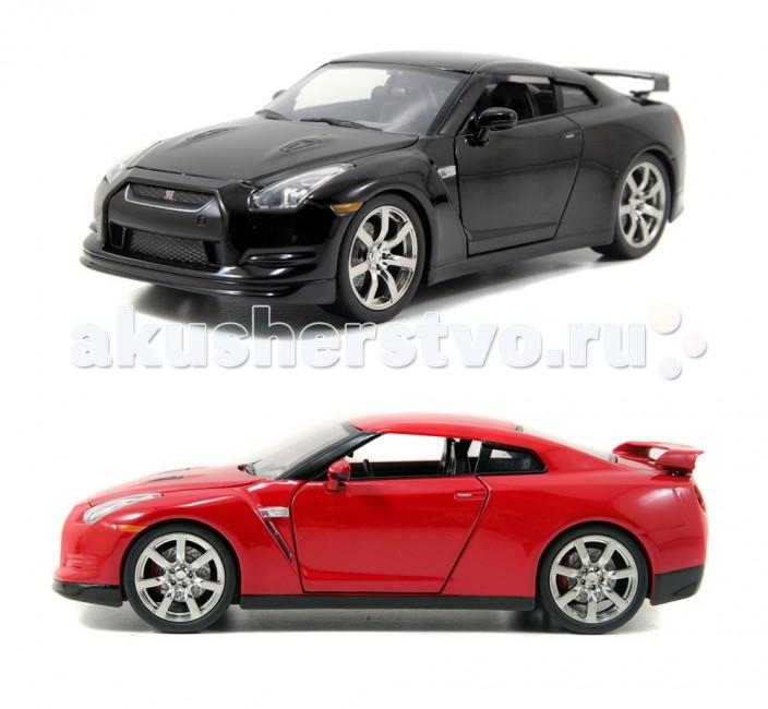 Jada Diekast ������ 2009 Nissan GT-R Rim 1:24
