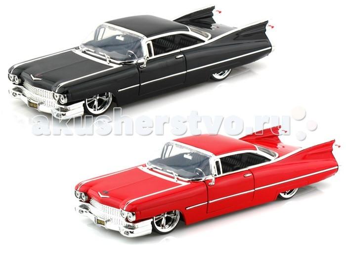 Jada Diekast ������ 1959 Cadillac Deville Hard Top - KMC SS 1:24