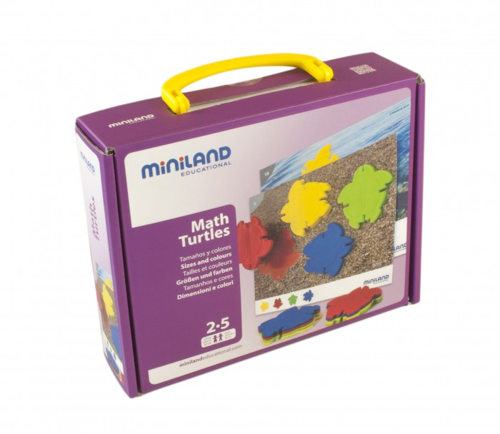 Miniland Обучающий набор Черепашкина математика