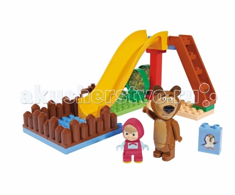 Конструктор BIG Маша и Медведь Бассейн 29 деталей