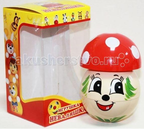 Развивающая игрушка Russia Неваляшка 13 смНеваляшка 13 смRussia Неваляшка - одна из самых любимых игрушек малышей. Она совмещает в себе погремушку и устройство, благодаря которому неваляшка никогда не упадет.   Яркие цвета и удобная форма игрушки не оставят малыша равнодушным. Кроме того, неваляшка абсолютно безопасна даже для маленьких детей.   При раскачивании издает звук. Неваляшка - игрушка для развития у ребенка цветового, звукового и тактильного восприятия.  Она изготовлена из высококачественного российского пластика по строгим гигиеническим и санитарным нормам.   Высота неваляшки 13 см.   Неваляшка продается в цветной картонной подарочной упаковке.  Расцветка игрушки может отличаться от представленной на фото!<br>