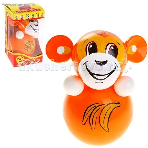 Развивающая игрушка Russia Неваляшка 6С-0021 15 смНеваляшка 6С-0021 15 смRussia Неваляшка - одна из самых любимых игрушек малышей. Она совмещает в себе погремушку и устройство, благодаря которому неваляшка никогда не упадет.   Яркие цвета и удобная форма игрушки не оставят малыша равнодушным. Кроме того, неваляшка абсолютно безопасна даже для маленьких детей.   При раскачивании издает звук. Неваляшка - игрушка для развития у ребенка цветового, звукового и тактильного восприятия.  Она изготовлена из высококачественного российского пластика по строгим гигиеническим и санитарным нормам.   Высота неваляшки 15 см.   Неваляшка продается в цветной картонной подарочной упаковке.<br>
