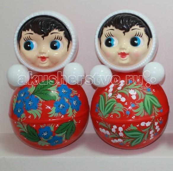 Развивающая игрушка Russia Неваляшка 35.6 смНеваляшка 35.6 смRussia Неваляшка - одна из самых любимых игрушек малышей. Она совмещает в себе погремушку и устройство, благодаря которому неваляшка никогда не упадет.   Яркие цвета и удобная форма игрушки не оставят малыша равнодушным. Кроме того, неваляшка абсолютно безопасна даже для маленьких детей.   При раскачивании издает звук. Неваляшка - игрушка для развития у ребенка цветового, звукового и тактильного восприятия.  Она изготовлена из высококачественного российского пластика по строгим гигиеническим и санитарным нормам.   Высота неваляшки 35.6 см.   Неваляшка продается в цветной картонной подарочной упаковке.  Цвета в ассортименте.<br>
