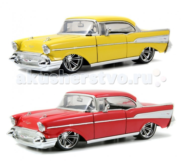 Jada Diekast ������ 1957 Chevy Belair-Wheel-Saber 8 1:24