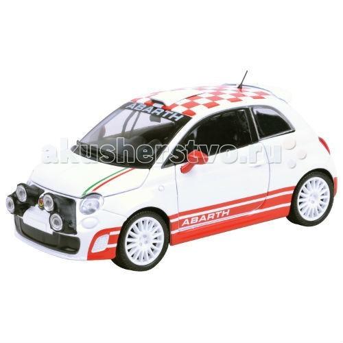MotorMax Машинка коллекционная 1:24 Abarth 500 R3TМашинка коллекционная 1:24 Abarth 500 R3TMotorMax Машинка коллекционная 1:24 Abarth 500 R3T - управлять и стать владельцем теперь вполне реально, ведь можно приобрести уникальную реалистичную модель автомобиля от бренда Motormax.   В яркой подарочной упаковке вы обнаружите сделанную из литого металла машину с резиновыми колесами, которые плавно катятся по ровной поверхности.   Юным водителям непременно понравится представлять себя за рулем мощного спортивного суперкара, у которого 4 дополнительные фары, открывающиеся дверцы, капот и багажник. Руль можно поворачивать из стороны в сторону, а вслед за ним вертятся и колеса, совсем как у настоящего Abarth 500 R3T!   Шикарный дизайн салона точь-в-точь такой же, как у оригинального автомобиля, названного в честь гонщика Карло Абарта.   Созданная в масштабе 1:24 модель станет неотъемлемой частью вашей коллекции.<br>