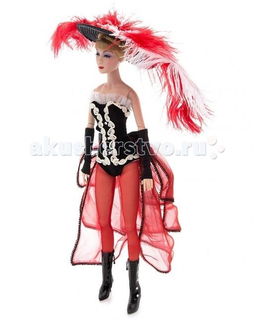 Madame Alexander Кукла Танцовщица из Мулен Руж 41 смКукла Танцовщица из Мулен Руж 41 смКукла Madame Alexander Танцовщица Мулен Руж станет прекрасным украшением любой коллекции.   Кукла Танцовщица из Мулен Руж - голубоглазая блондинка одета в костюм для танца канкан стиля 1962 года - корсетное платье из черного вельвета с открытми плечами и шнуровкой на спине, украшено белой тесьмой по краям и белыми кружевами по кайме лифа.  Кукла 41 см. Выполнена из высококачественного винила. Глазки из стекла, закрываются. Ручки и ножки двигаются. Головка на шарнире - может поворачиваться и наклоняться, что позволяет придавать кукле разнообразные позы и оттенки настроения. Тончайшая проработка черт лица. Многослойная одежда, разработанная известными дизайнерами, выполнена из качественных натуральных тканей.   Более 90 лет назад Беатрис Александер Берман, дочь русского эмигранта, преобразовала мастерскую своего отца и основала компанию Madamе Alexander по производству кукол. Сегодня бренд Мадам Александер - всемирно известная марка, под которой создаются игровые и коллекционные виниловые куклы, достойные восхищения.<br>